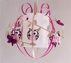 Suspension Chambre Bébé : luminaire fille lampe et suspension chambre fille ~ Voncanada.com Idées de Décoration