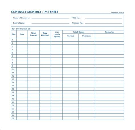 Time Card Template For Numbers by Timesheet Calculator Work Hours Sheet Template