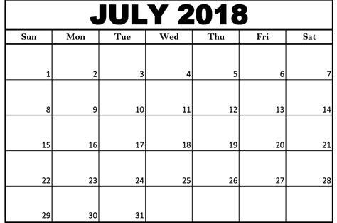 2018 word calendar july 2018 calendar ms word