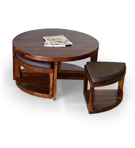 coffee table with stools underneath india coffee table with stools by mudramark
