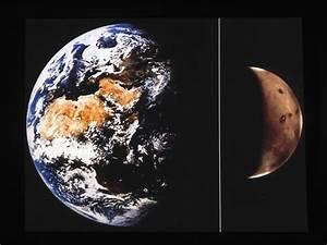 1. Earth-Mars Comparison