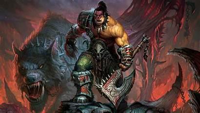 Warcraft 4k Orc Games