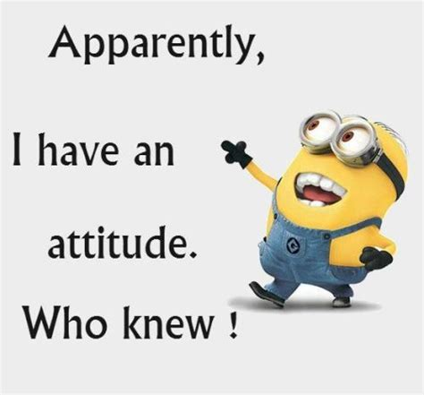 Who Knew Meme - apparently i have an attitude who knew pictures photos and images for facebook tumblr