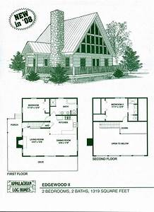 log home floor plans log cabin kits appalachian log With log cabin home designs and floor plans