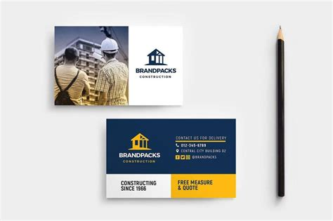 14+ Construction Business Card Designs And Examples Business Card Design For Doctors Width And Height Photoshop Laminating Pouches 10 Mil Cards Logos Visiting Logo Online Best Maker Free Size Aus A4 Layout