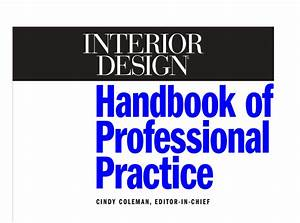interior designers handbook for professional practice free With interior design learning books free download