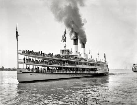 Barco De Vapor Sirius by Sidewheeler Tashmoo Circa 1901 Quot Sidewheeler Tashmoo