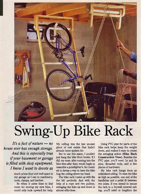 swing  bike rack woodarchivist