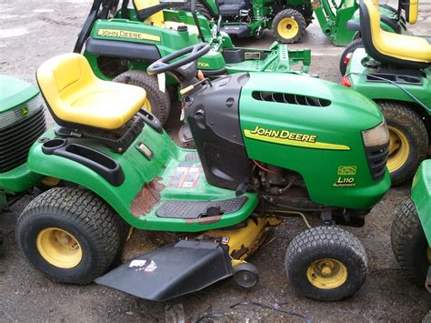 Deere L110 Mower Deck by Deere L110 Lawn Garden And Commercial Mowing