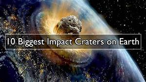 10 Biggest Impact Craters on Earth | Geology Page
