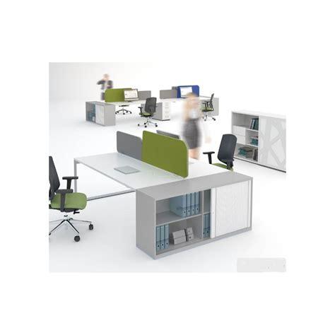 bureau bench bureau bench ogi q avec meuble de rangement mdd bureaux