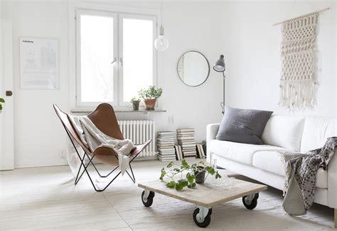 Minimal Bohemian Interior Style