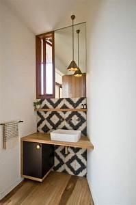 Sol Bois Salle De Bain : id e d coration salle de bain idee salle de bain petite ~ Premium-room.com Idées de Décoration