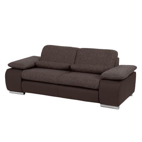 sofa kunstleder braun jetzt bei home24 2 sitzer einzelsofa modoform home24