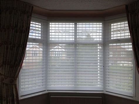 blinds for bay windows ideas window treatments design ideas