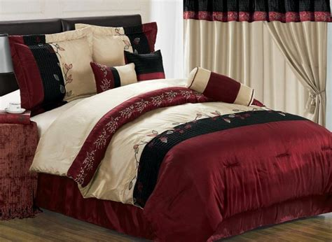 7 piece embroidery tree branch with leaf bedding comforter queen ebay