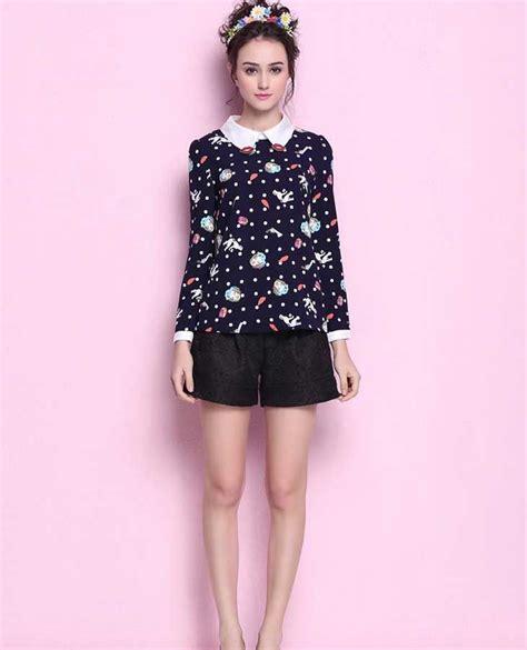 fashion kemeja fashion korea pink kemeja wanita lucu simple terbaru 2016 jual model