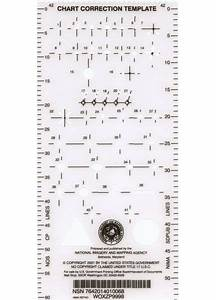 Nautical Chart Correction Template Weems Plath Chart Plotting Correction Template Only 5 95