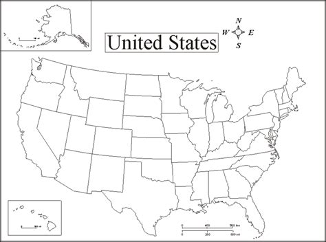pictures to print of a map of united states learning