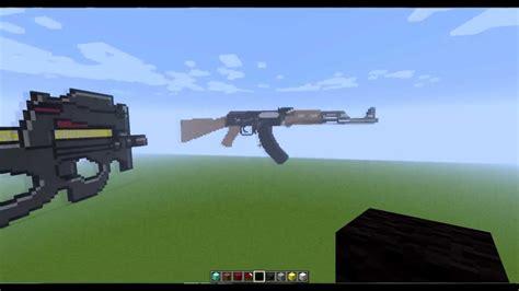 pixel art demonstracao de ak   p minecraft youtube