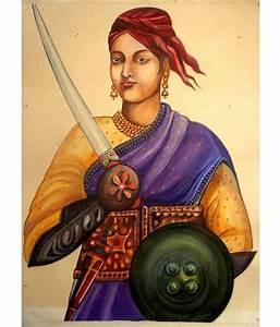 MAHALAXMI ART & CRAFT Jhansi ki Rani Laxmi Bai Vintage