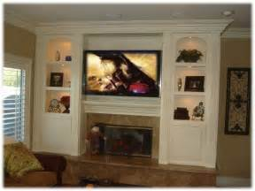 Recessed Media Cabinet by Entertainment Center Appleton Renovations