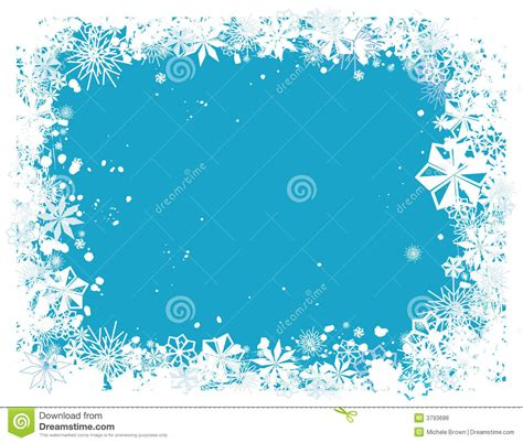 Snow writing paper
