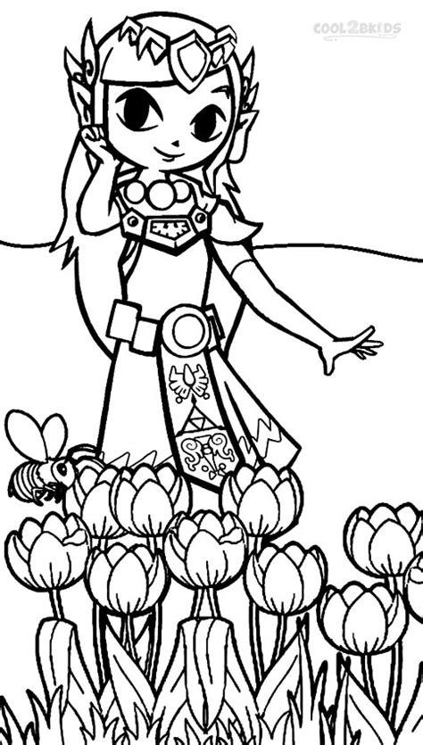 printable zelda coloring pages  kids coolbkids