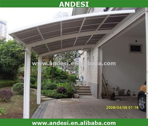 carport dach kunststoff doppelkabine aluminium carport mit kunststoff dach garage solar panel patio cover