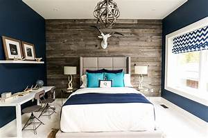 Moody, Interior, Breathtaking, Bedrooms, In, Shades, Of, Blue
