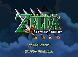 The Legend Of Zelda Four Swords Adventures GameCube