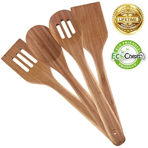 bamboo kitchen utensil cooking piece tools non gadgets healthy eco utensils friendly scratch natural clean sets durable premium easy enhance