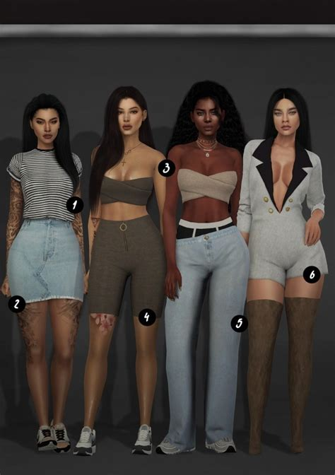 Cc Clothes Dump At Slay Classy Sims 4 Updates