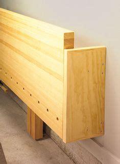 wall mounted folding workbench  wood whisperer