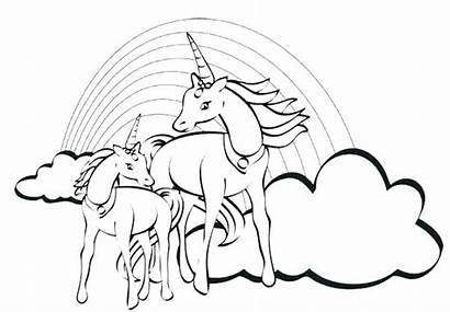 Unicorn Coloring Pages Pdf Printable Unic Getcolorings
