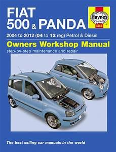 Haynes Workshop Repair Owner Manual Fiat 500  U0026 Panda 04