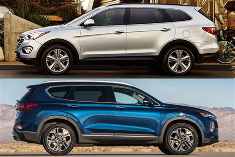 2018 Vs 2019 Hyundai Santa Fe What's The Difference