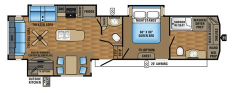 Jayco 5th Wheel Floor Plans 2018 2017 eagle fifth wheel floorplans prices jayco inc