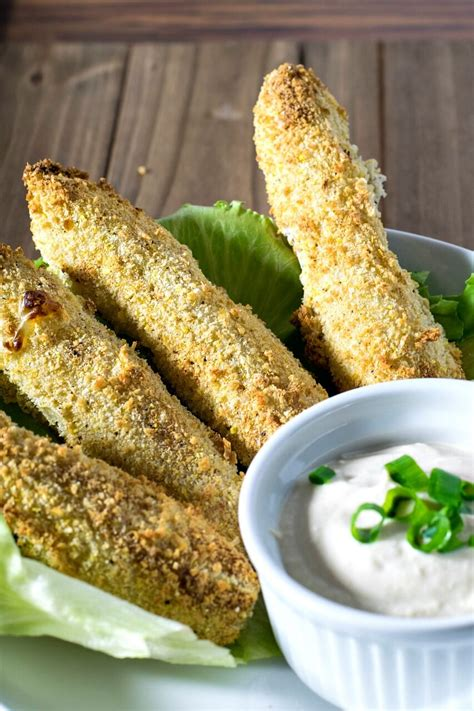 air vegan fried pickles fryer recipes brand fryed healthy horseradish sauce super
