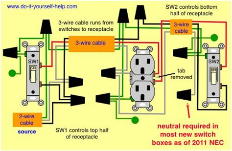 Wiring Diagram For House Outlets Light