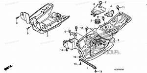 Honda Scooter 2009 Oem Parts Diagram For Floor Step