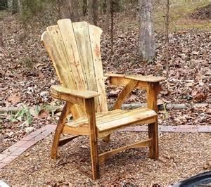 White Adirondack Chair Pallet by Diy Pallet Adirondack Chair With Table Pallet Furniture
