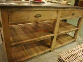 reclaimed wood kitchen islands reclaimed pine wood kitchen island with blue top 1 877 00 picclick