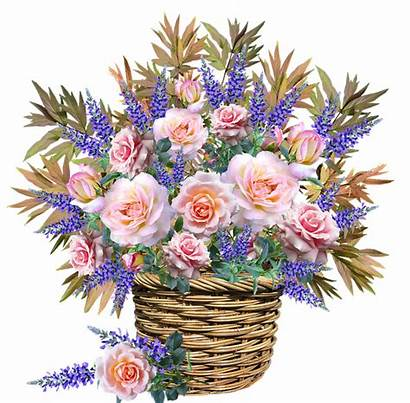 Flowers Basket Arrangement Garden Flower Celebration Pixel