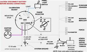 Wiring Diagram For A Boat Tachometer