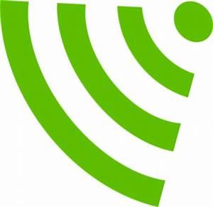 Green Wifi Symbol Clip Art at Clker.com - vector clip art ...