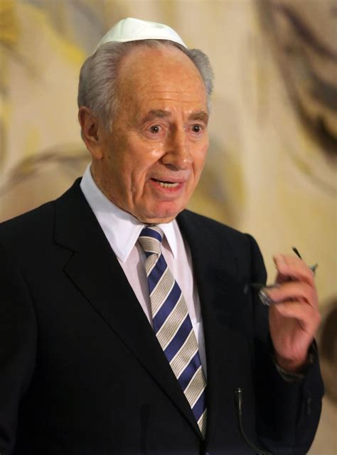 Shimon Peres in Shimon Peres Elected As President 25 of 35
