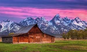 Mormon Row  Wyoming  Grand Teton National Park