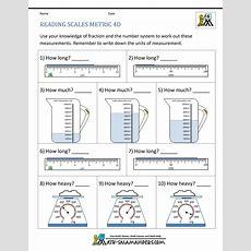 4th Grade Measurement Worksheets