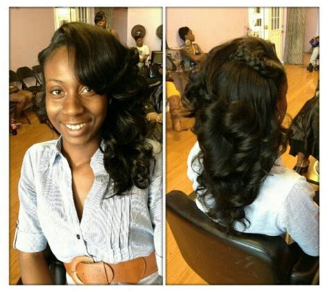 Pull Up Sew In Hairstyles by Pull Up Sew In Sew In Hair Styles Prom Hair